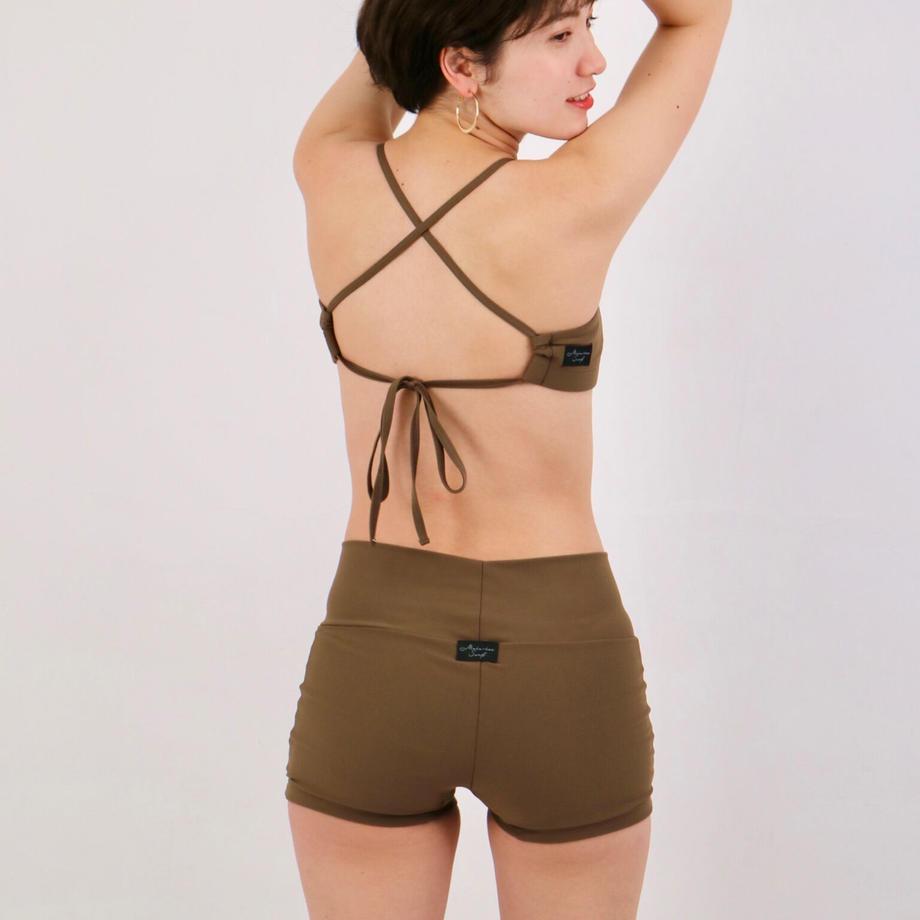 MAKA-HOU SURFHigh waist short pants40W04-12S